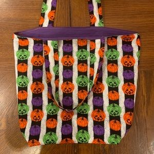 Handmade Halloween Trick or Treat Bag 🎃👻